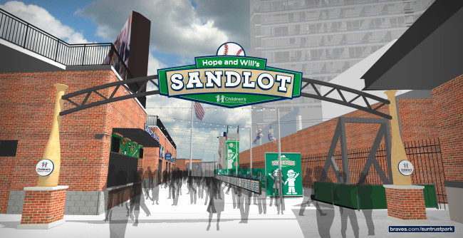 SunTrust Park secrets, like the Will and Hope Sandlot, are not to be kept! Check out what families need to know before they head out to see the new home of the Atlanta Braves.