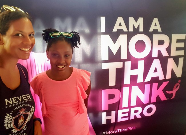 More Thank Pink is a movement to help support Susan G. Comen organization.