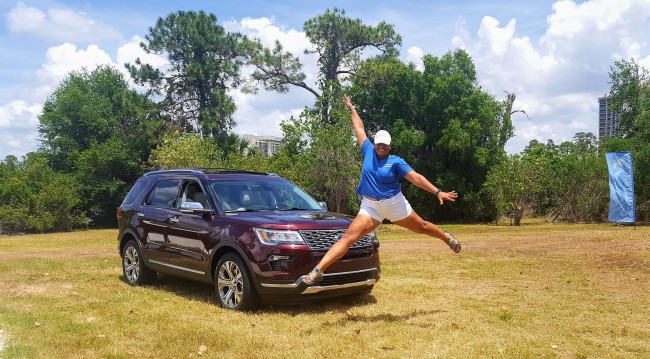 I was leaping for joy after driving this new SUV for a couple weeks.