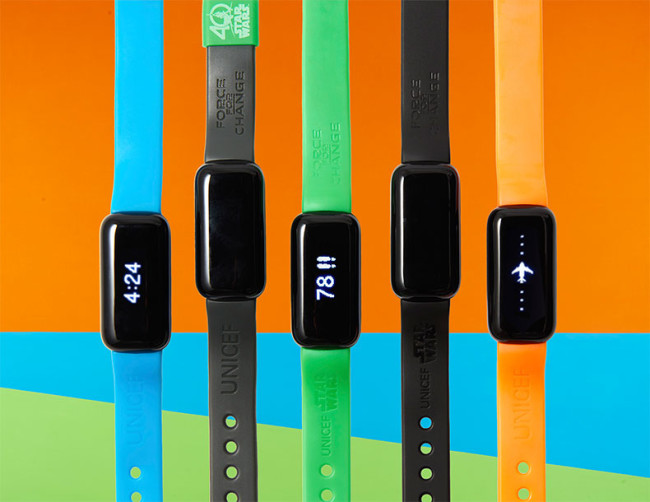 UNICEF Kid Power bands get kids active and help save lives!