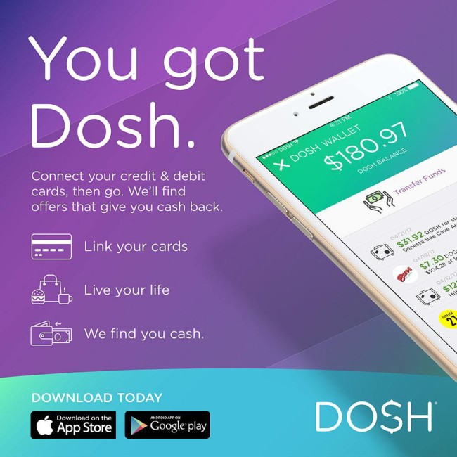 Dosh is a money saving app that gives you cash back for travel and everyday purchases.