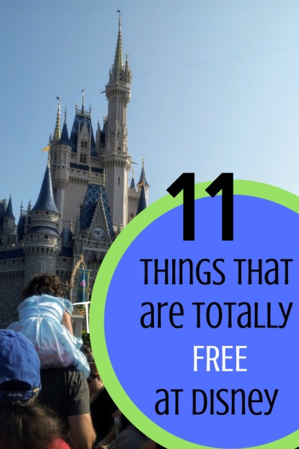 There are some things that really are free at Disney!