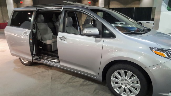 The 2018 Toyota Sienna will be refreshed and will include more safety features, even in the base model.