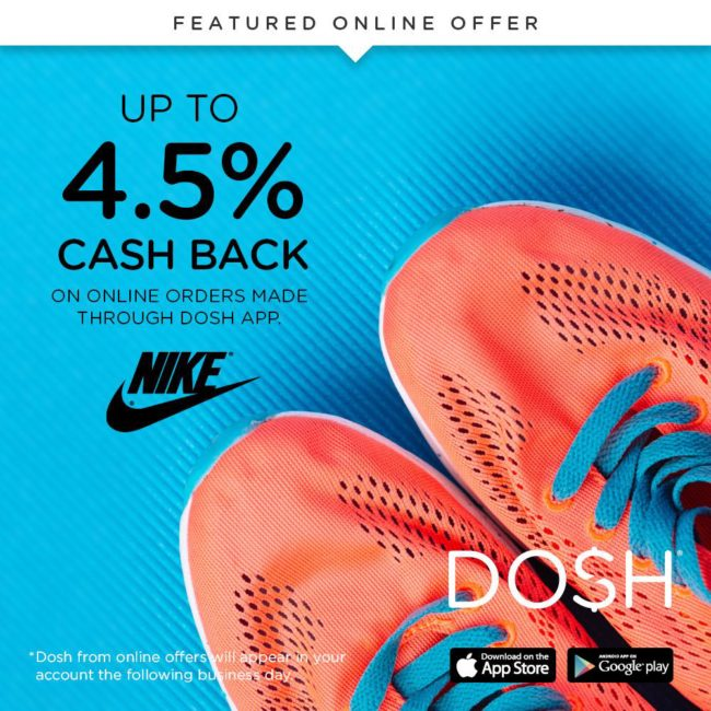 Get up to 4.5% cash back on all the Nike sports gear Dad will love for some last minute Father's Day gifts.