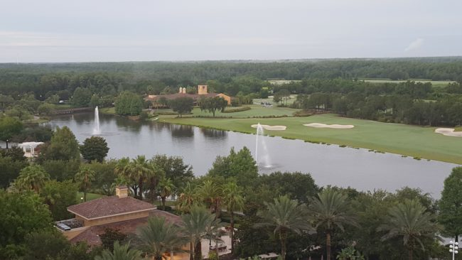 Check out 9 reasons to make the club level splurge at the luxury hotel Ritz-Carlton Grande Lakes Orlando, including the view!