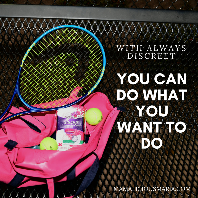 With Always Discreet you CAN do what you want to do...including limiting bladder leaks and staying in the game!
