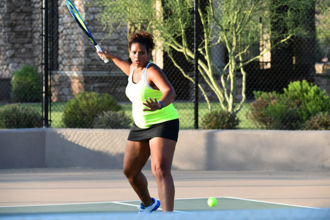 Tennis is one of my favorite activities. It is something many women stop playing though if they can't figure out a way for limiting leaks. Always Discreet can help.