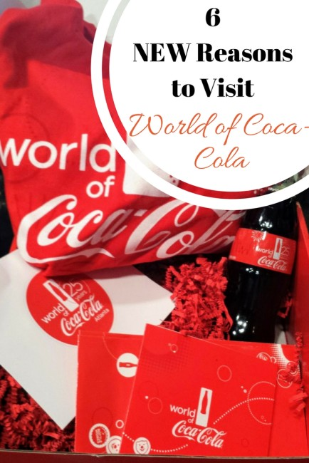 There's some great new reasons to check out the Atlanta kid friendly attraction, World of Coca-Cola.