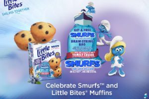 How to Win Entenmann's Little Bites Muffins Coupons & Gift Card #LoveLittleBites #SmurfMovie