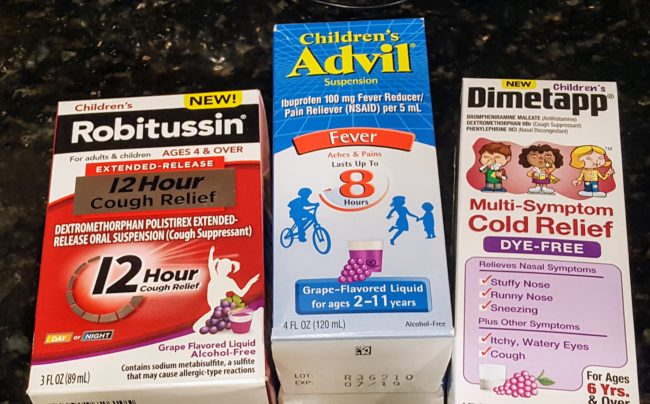 Traveling with sick kids is something most families will have to deal with. These are the products you want to have on hand to prepare yourself for the worst.