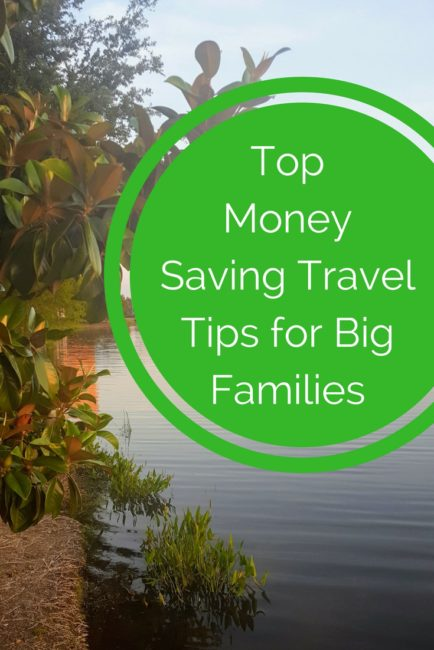Check out these money saving travel tips for families.
