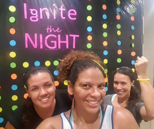The Ignite the Night event at Life Time Athletic was a fantastic moms night out.