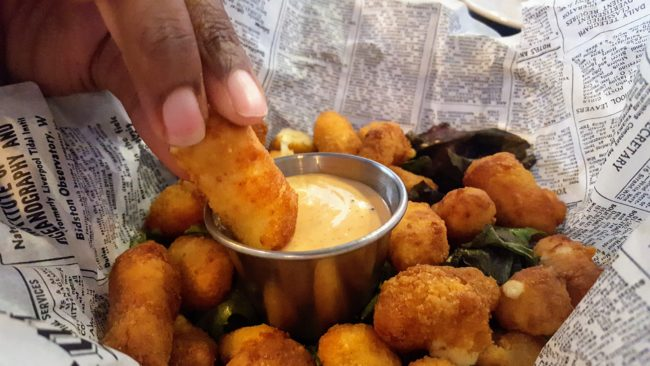 Real Wisconsin cheese curds are one of the highlights to the menu at Murph's restaurant.