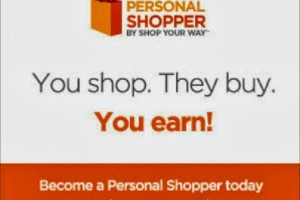 Shopping Gurus Unite!  Become a #PersonalShopper with @ShopYourWay #ad