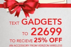 Verizon Wireless is NOT just a phone store + 25% off coupon #vzgaholiday
