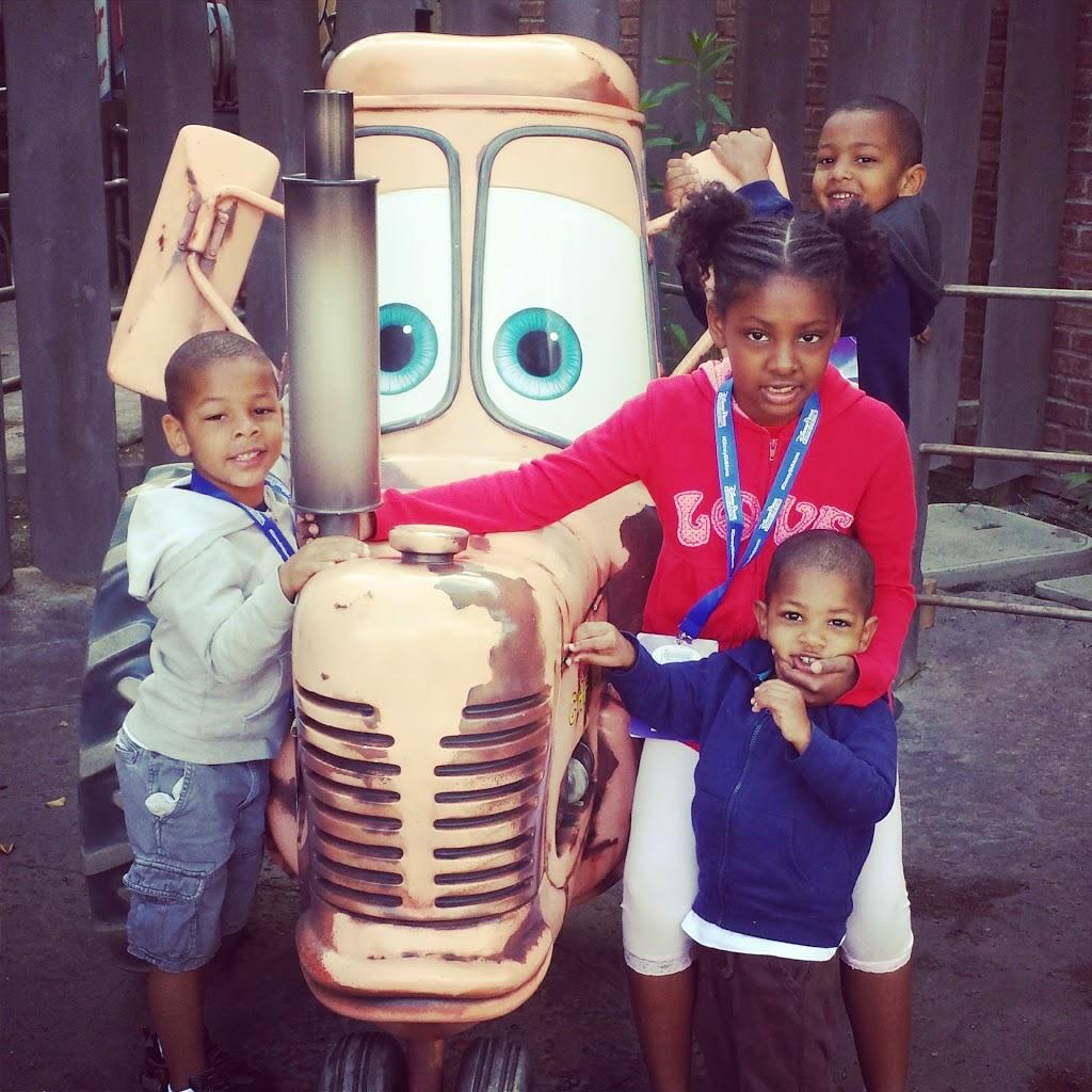 Disney Social Media Moms kids in Carsland