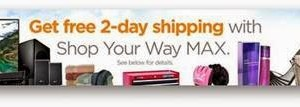 Save money with Shop Your Way Max #ad