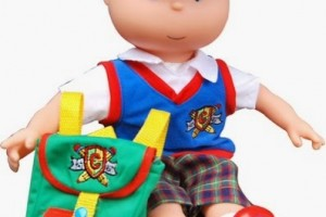 Win a Caillou Talking Doll! #cailoudoll