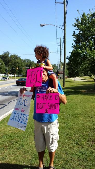 #March4Peace Dad