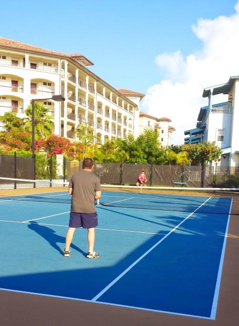 tennis at Beaches Resorts