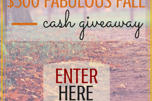 Biggest. Giveaway. Ever. Enter to $500 cash!