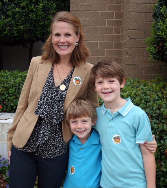 Kate Carter votes