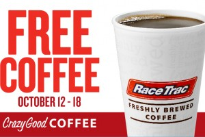 It's free coffee week @RaceTrac + $25 Giveaway #ad #CrazyGoodCoffee