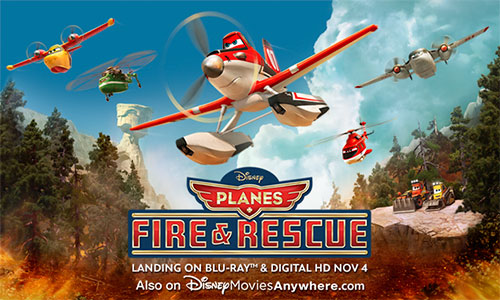 Disney Planes Fire and Rescue #MyEverydayHeroSweeps