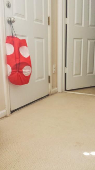Carpet after the Shark Rotator got to it
