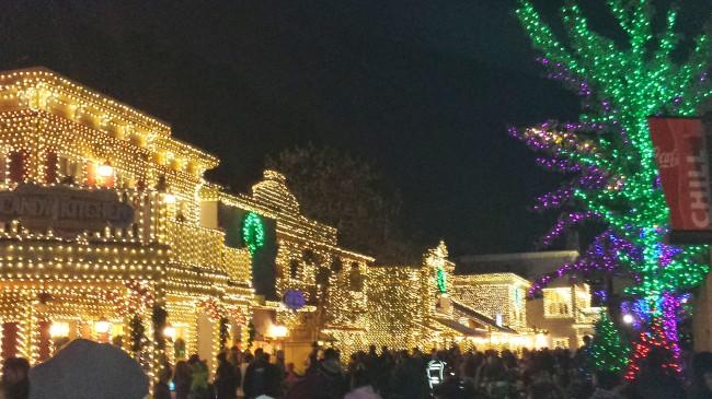 Stone Mountain Christmas lights