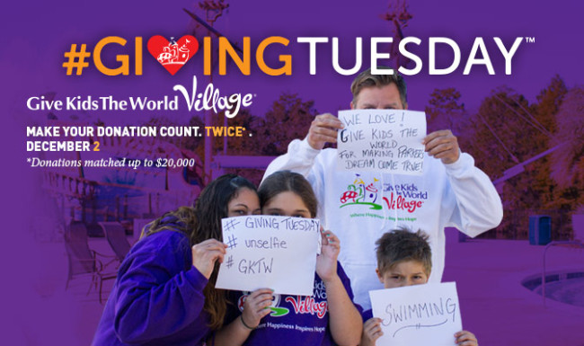 Give Kids the World GivingTuesday
