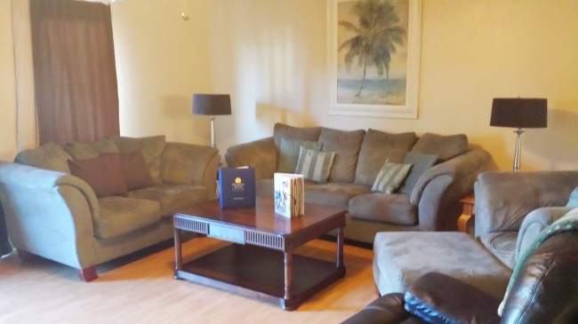 Palmetto Dunes villa living room