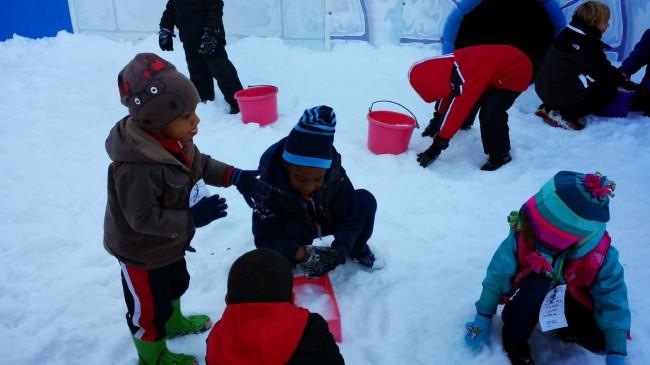 Snow Mountain snow play