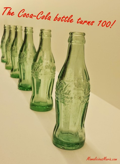 The coca-cola bottle turns 100 this year.