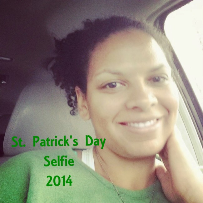 Maria Smith St. Patrick's Day 2014