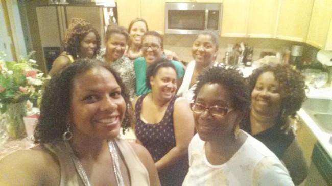 Atlanta Mocha Moms at the Moms Nite Out party