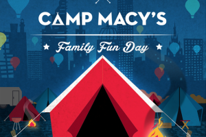 Free Kid's Event in Atlanta| Camp Macy's Debuts at SouthLake Mall #Americanselfie