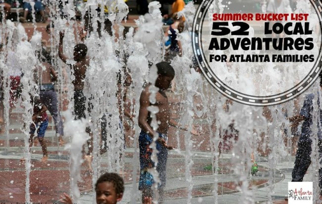 52 local adventures for Atlanta families