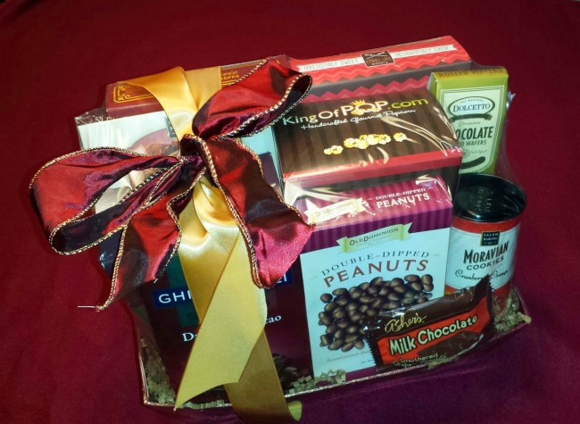 Win a Father's Day Chocolate Gift Basket!