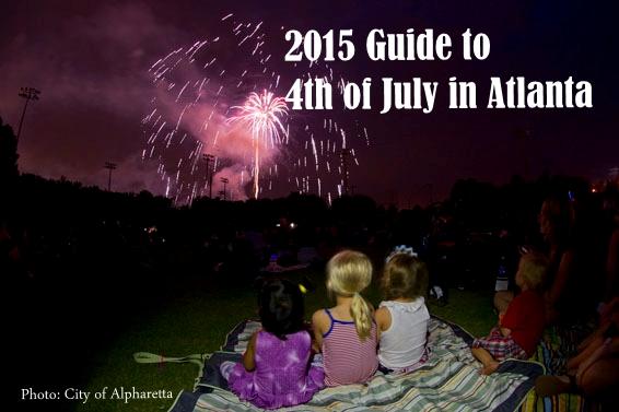 Celebrate the 4th of July in Atlanta.