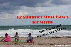 12 Summer Must Haves for Moms Giveaway | Win Over $1000 of Products!