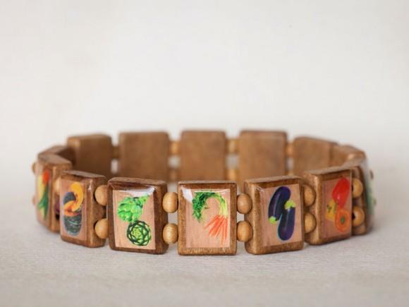 Veggie republic bracelet