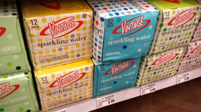 Vintage Sparkling Water is on sale at select Krogers.