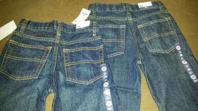 Oshkosh B'gosh jeans are top quality.