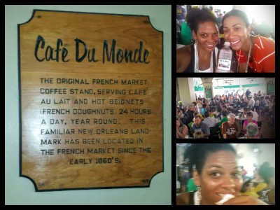 Cafe du Monde in New Orleans is a must-stop for tourists and locals alike.