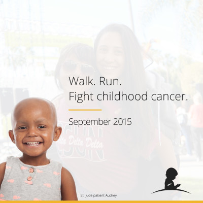 St. Jude Children's Research Hospital has the St. Jude Run/Walk in Atlanta on 9/26!