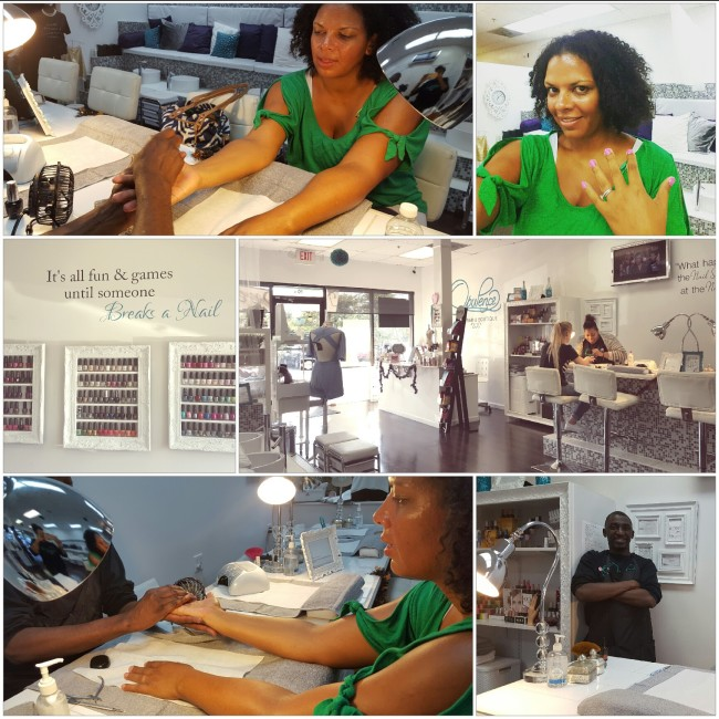 Opulence Nail Bar in Alpharetta showed me I am a spa person!