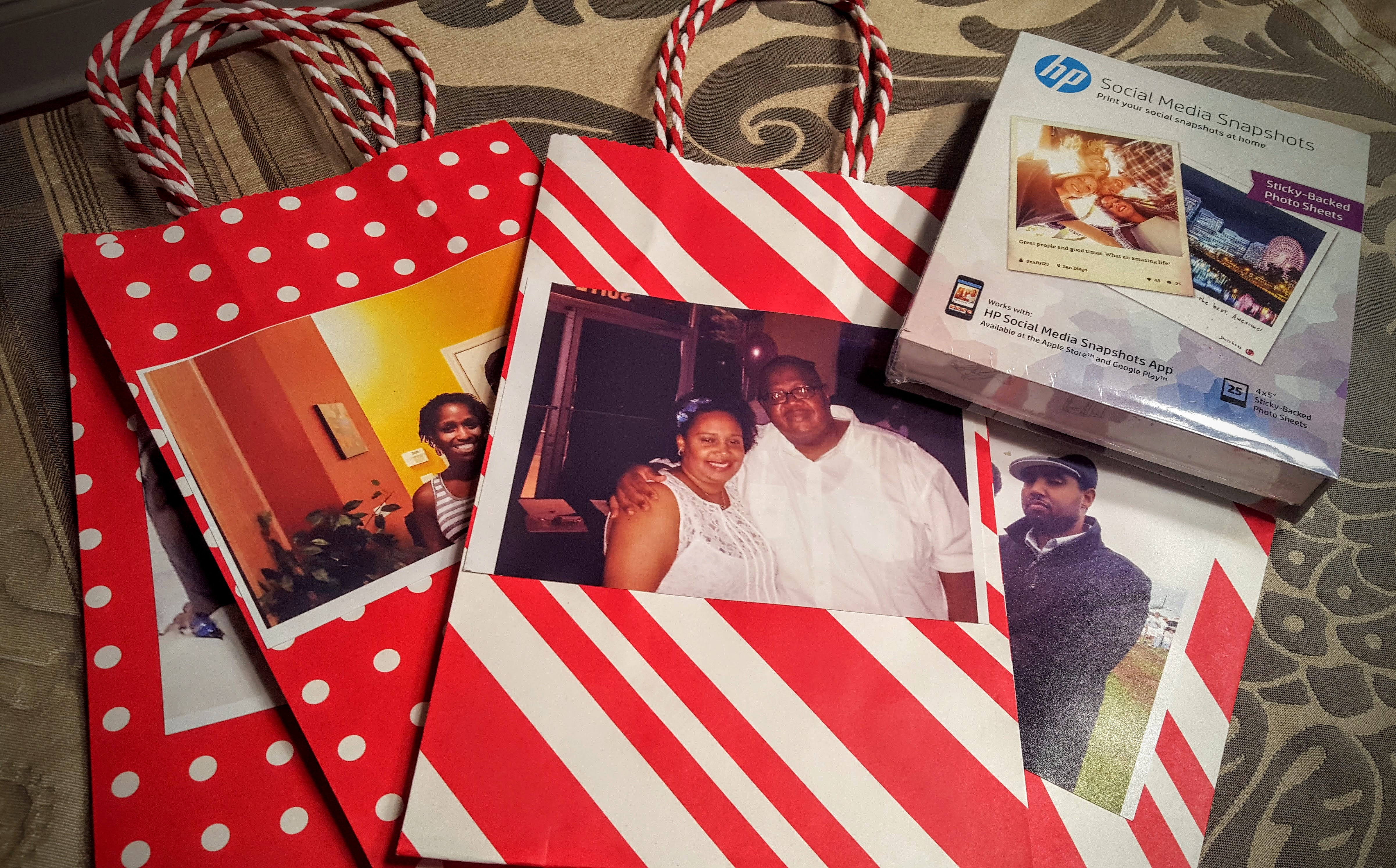 Easy Personalized Gifts With Hp Snapshot