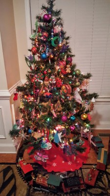 Don't let your Christmas tree be a fire hazard!