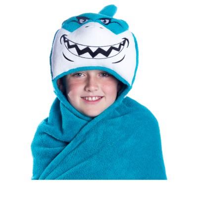 Comfy Critters shark blanket